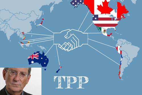 Trans-Pacific Partnership and Stan Greenberg