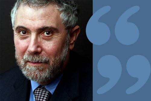 Paul Krugman quote
