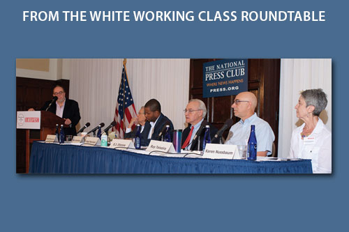 The 2017 Conference of the White Working Class Roundtable panel