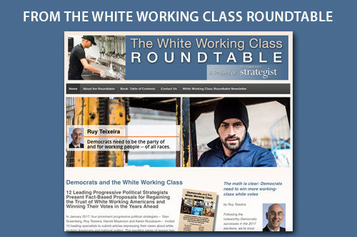 The White Working Class Roundtable website