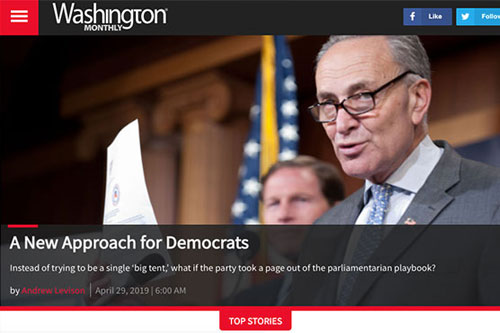 A New Approach for Democrats