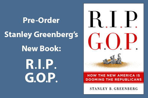 RIP GOP book by Stanley Greenberg