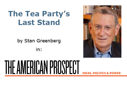 Stan Greenberg in The American Prospect